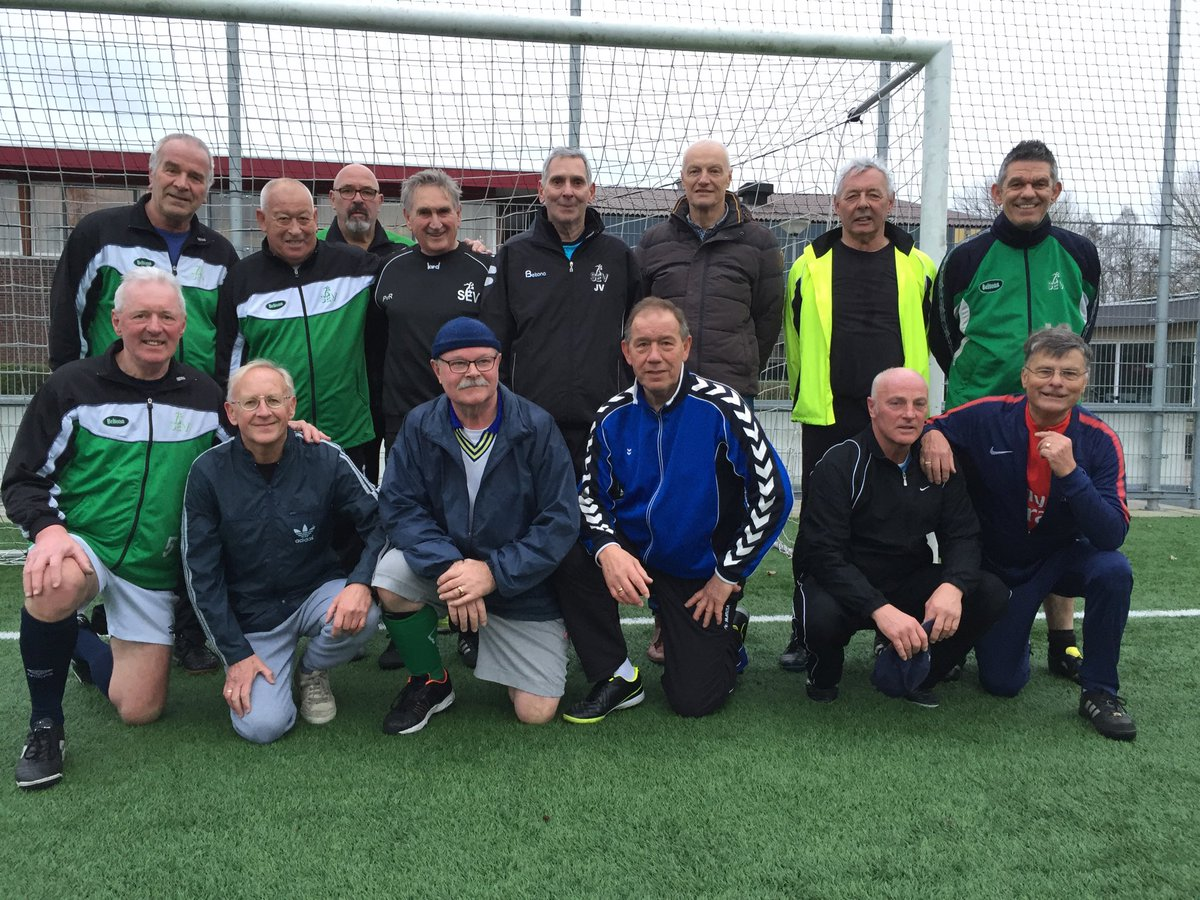 Het Walking Football team van 2017-2018