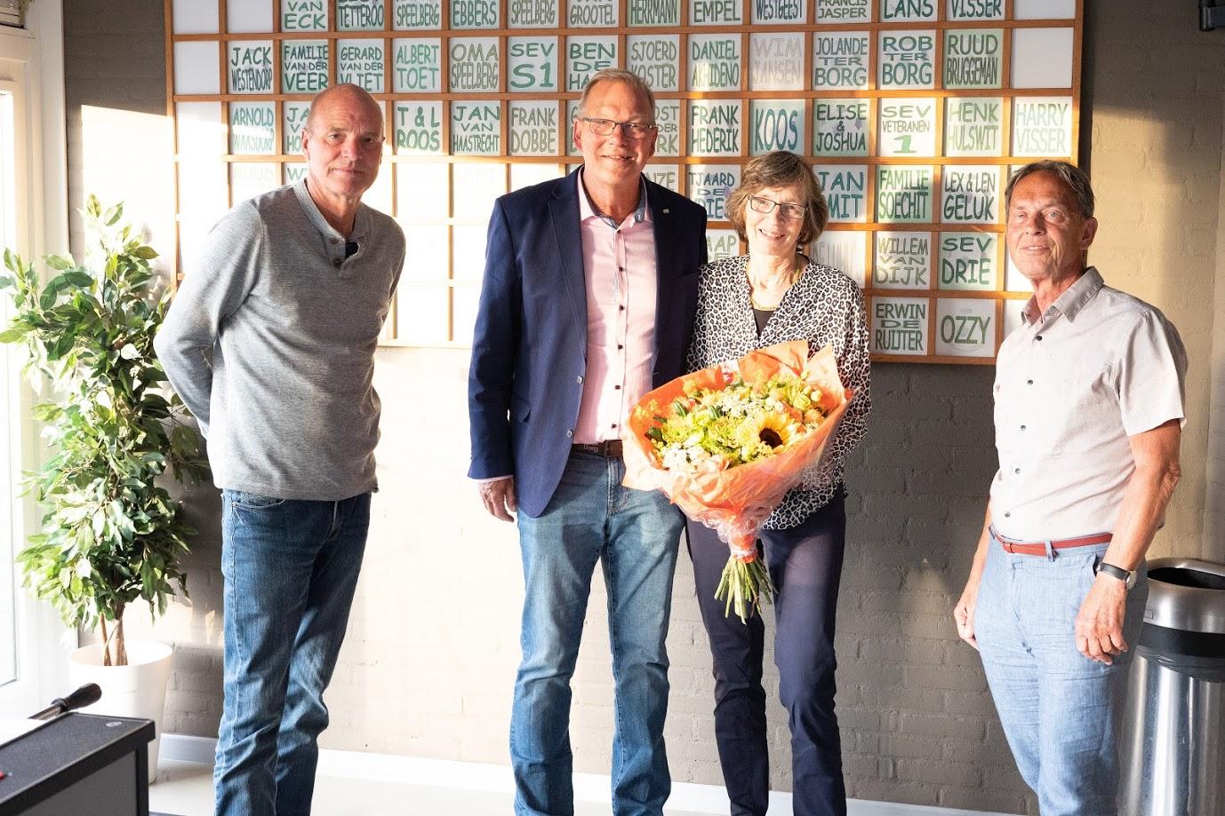 Voorzitter Rob de Ruijter neemt afscheid op gedenkwaardige ALV.