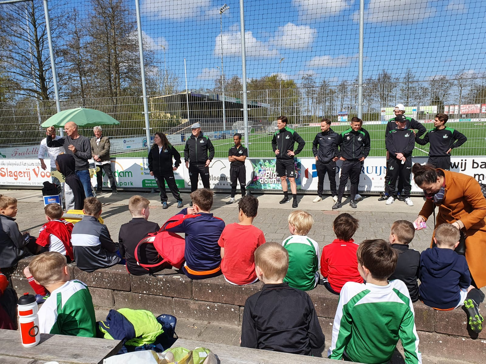 Open training groot succes