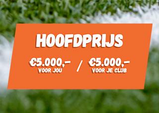 Doe mee aan de Amateurvoetbal loterij
