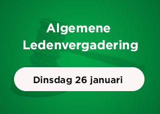 Algemene Ledenvergadering dinsdag 26 januari 2021
